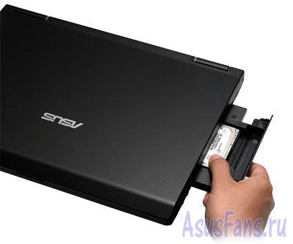 Бизнес ноутбук ASUS P80 с защитой от краж Anti-Theft